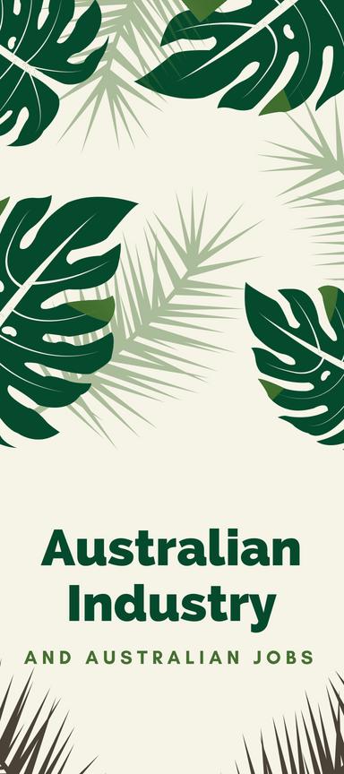 Australian Industry