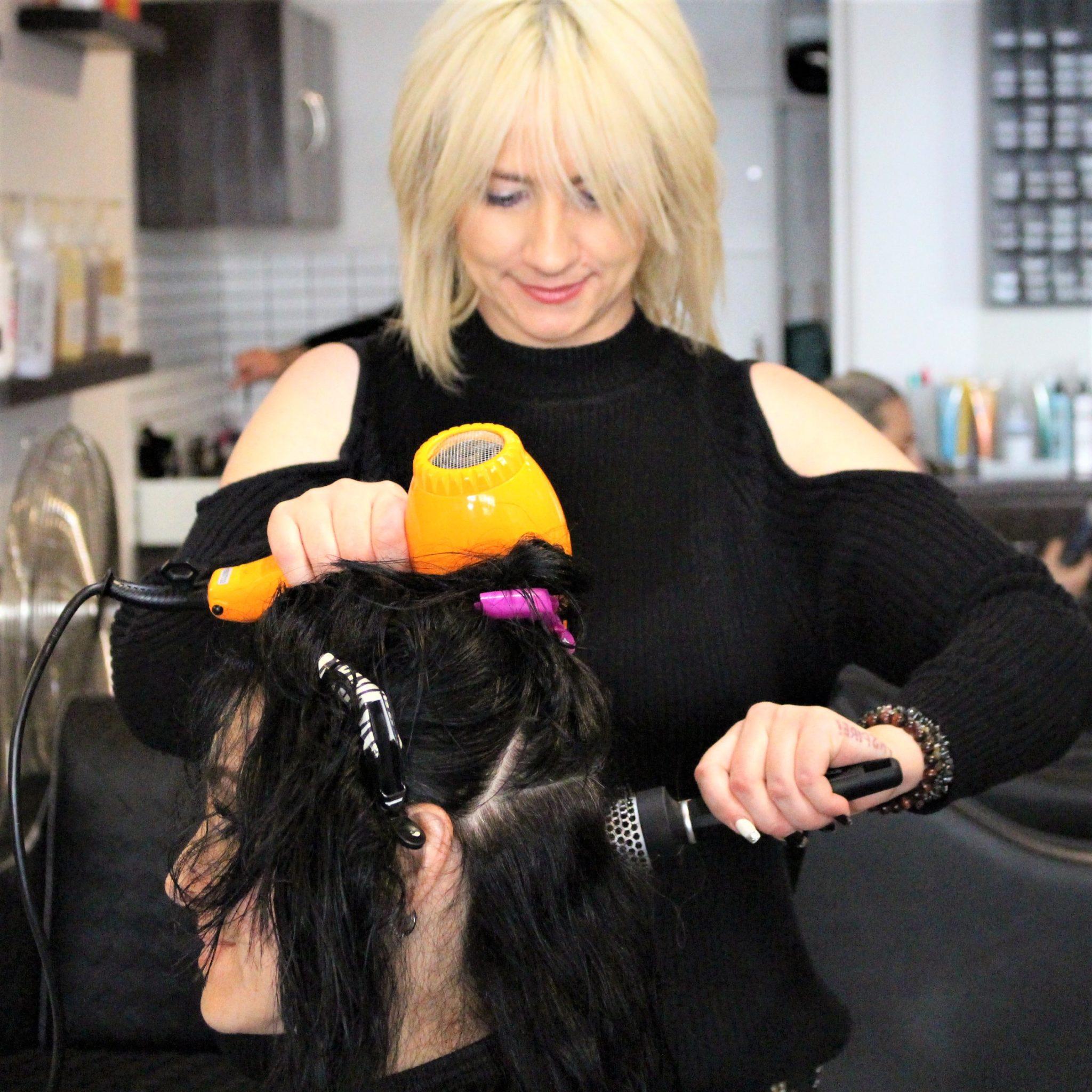 Australian Hairdresser sydney Freelance and mobile hairdressing crystal john ston